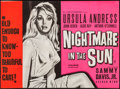 "Movie Posters:Crime, Nightmare in the Sun (S.F. Film Distributors, 1965). British Quad(29.5"" X 40""). Crime.. ..."