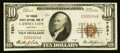 National Bank Notes:Kentucky, Cannel City, KY - $10 1929 Ty. 1 The Morgan County NB Ch. # 7891....