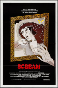 """Scream & Others Lot (Cal-Com, 1983). One Sheets (3) (27"""" X 41"""") Flat Folded. Horror. ... (Total: 3 Ite..."""