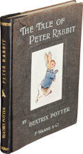 Books:Children's Books, Beatrix Potter. The Tale of Peter Rabbit. London: F.Warne & Co., [n.d., 1902]. First published trade edition. S...