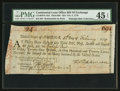 Colonial Notes:Continental Congress Issues, Continental Loan Office Bill of Exchange Third Bill- $24 Feb. 5,1779 Anderson US-96/PA-10A. PMG Choice Extremely Fine 45 EPQ....
