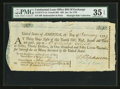 Colonial Notes:Continental Congress Issues, Continental Loan Office Bill of Exchange Fourth Bill- $30 Jan. 16, 1779 Anderson US-97/CT-1A. PMG Choice Very Fine 35 EPQ.. ...