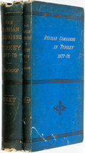 Books:World History, F. V. Greene. Report on the Russian Army and Its Campaigns in Turkey in 1877-1878. New York: D. Appleton and Company... (Total: 2 Items)