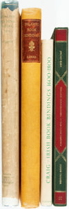 Books:Books about Books, [Bookbinding.] Group of Four Books Related to Bookbinding. Variouspublishers and dates.... (Total: 4 Items)
