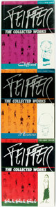 Books:Art & Architecture, [Jules Feiffer]. SIGNED. Feiffer, the Collected Works, Vols. I-III. [Seattle: Fantagraphics Books, 1989-1992. ... (Total: 3 Items)