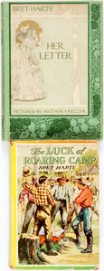 Books:Literature 1900-up, Bret Harte. The Luck of Roaring Camp and Other Stories. Chicago: The Goldsmith Publishing Company, [n.d.] Publisher'... (Total: 2 Items)