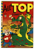 "Golden Age (1938-1955):Funny Animal, All Top Comics #7 Davis Crippen (""D"" Copy) pedigree (Fox FeaturesSyndicate, 1947) Condition: VF-...."