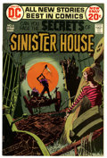 Bronze Age (1970-1979):Horror, Secrets of Sinister House #6 (DC, 1972) Condition: NM-....