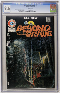 Beyond the Grave #1 (Charlton, 1975) CGC NM+ 9.6 White pages