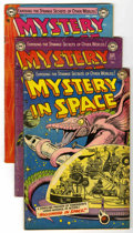 Golden Age (1938-1955):Science Fiction, Mystery in Space #14, 15, and 17 Group (DC, 1953) Condition:Average VG.... (Total: 3 Comic Books)