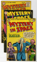 Golden Age (1938-1955):Science Fiction, Mystery in Space #20, 24, and 27 Group (DC, 1954-55) Condition:Average VG.... (Total: 3 Comic Books)
