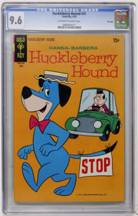 Huckleberry Hound #41 File Copy (Gold Key, 1970) CGC NM+ 9.6 Off-white to white pages
