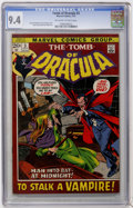 Bronze Age (1970-1979):Horror, Tomb of Dracula #3 (Marvel, 1972) CGC NM 9.4 Off-white to whitepages....