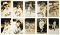 Baseball Collectibles:Photos, 1930's-40's George Burke Photographs Lot of 245. Massive assemblageof stunning photographic works could only derive from t...