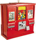 Baseball Collectibles:Others, 1950's Baseball Card & Bubble Gum Vending Machine. One of thegreat laments of the baseball card collecting hobby is the de...