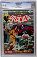 Bronze Age (1970-1979):Horror, Tomb of Dracula #8 (Marvel, 1973) CGC NM 9.4 Off-white to whitepages....