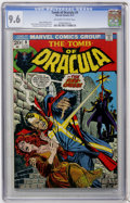 Bronze Age (1970-1979):Horror, Tomb of Dracula #9 (Marvel, 1973) CGC NM+ 9.6 Off-white to whitepages....