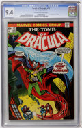 Bronze Age (1970-1979):Horror, Tomb of Dracula #12 (Marvel, 1973) CGC NM 9.4 Off-white to whitepages....