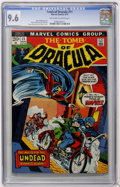 Bronze Age (1970-1979):Horror, Tomb of Dracula #11 (Marvel, 1973) CGC NM+ 9.6 Off-white to whitepages....