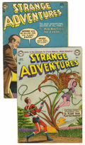 Golden Age (1938-1955):Science Fiction, Strange Adventures #44 and 47 Group (DC, 1954) .... (Total: 2 ComicBooks)