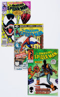 Modern Age (1980-Present):Superhero, The Amazing Spider-Man Group (Marvel, 1981-90) Condition: AverageNM.... (Total: 31 Comic Books)