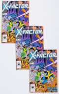 Modern Age (1980-Present):Superhero, X-Factor #1 Group (Marvel, 1986) Condition: Average VF.... (Total:52 Comic Books)