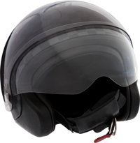 """Louis Vuitton Limited Edition Damier Graphite Motorcycle Helmet Very Good to Excellent Condition 6"""" Width x"""