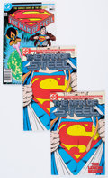 Modern Age (1980-Present):Superhero, Man of Steel #1 Group (DC, 1986) Condition: Average NM-.... (Total:101 Comic Books)