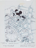 Animation Art:Production Drawing, Mickey Mouse and Friends Consumer Products Illustration Group (WaltDisney, c. 1980-90s).... (Total: 4 Original Art)