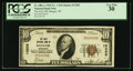 National Bank Notes:Wisconsin, Bangor, WI - $10 1929 Ty. 1 The First NB Ch. # 13202. ...