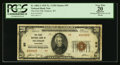 National Bank Notes:Wisconsin, Hudson, WI - $20 1929 Ty. 2 The First NB Ch. # 95. ...
