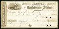 Confederate Notes:Group Lots, Confederate War Warrant $28 March 13, 1862.. ...