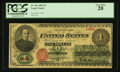 Large Size:Legal Tender Notes, Fr. 16c $1 1862 Legal Tender PCGS Very Fine 20.. ...