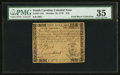 Colonial Notes:South Carolina, South Carolina October 19, 1776 $10 PMG Choice Very Fine 35.. ...