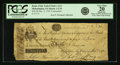 Philadelphia, PA - Bank of the United States (the First) $30 December 3, 1791 Contemporary Counterfeit US-1 C34 Hoober 3...