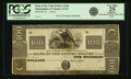 Philadelphia, PA - Bank of the United State (the Second) $100 18__ US-2 G32 Hoober 305-153. Proof. PCGS Very Fine 25 App...