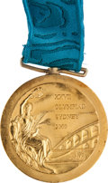 Miscellaneous Collectibles:General, 2000 Sydney Olympics Gold Medal Presented to American Swimmer Brooke Bennett (400M)....