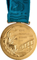 Miscellaneous Collectibles:General, 2000 Sydney Olympics Gold Medal Presented to American SwimmerBrooke Bennett (800M)....