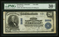 National Bank Notes:Colorado, Gunnison, CO - $20 1902 Plain Back Fr. 650 The First NB Ch. # 2686....