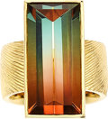 Estate Jewelry:Rings, Tourmaline, Gold Ring, Alan Craxford, English. ...