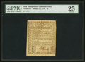 Colonial Notes:New Hampshire, New Hampshire January 26, 1776 $2 PMG Very Fine 25.. ...
