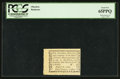 Colonial Notes:Pennsylvania, Pennsylvania August 6, 1789 Bank of North America 1d PCGS Gem New 65PPQ.. ...