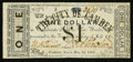 Obsoletes By State:Arkansas, Camden, AR- The City of Camden $1 May 14, 1862 Rothert 92-3. ...