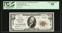Conway, AR - $10 1929 Ty. 2 The First NB Ch. # 13719