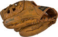 Baseball Collectibles:Others, Circa 1973 Lou Brock Game Used Fielder's Glove....