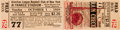 Baseball Collectibles:Tickets, 1939 Lou Gehrig Last Regular Season Game Ticket. ...