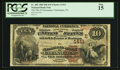 National Bank Notes:Pennsylvania, Catasauqua, PA - $10 1882 Brown Back Fr. 482 The NB of CatasauquaCh. # (E)1411. ...