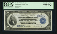 Fr. 758 $2 1918 Federal Reserve Bank Note PCGS Very Choice New 64PPQ