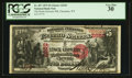 National Bank Notes:Wyoming, Cheyenne, WY - $5 1875 Fr. 407 The Stock Growers NB Ch. # 2652. ...