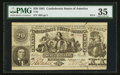 Confederate Notes:1861 Issues, T20 $20 1861 PF-3 Cr. 140.. ...